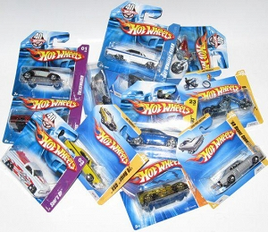 M5785 MATTEL HOT WHEELS MIX